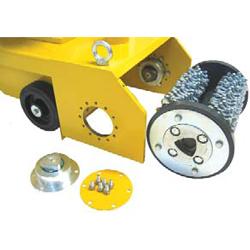 фрезеровальная фрезерная машина удаление слоев дорожной разметки нарезание бороздок канавок создавание шероховатой поверхности